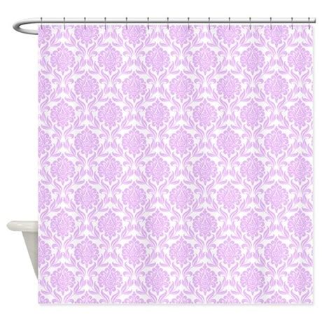 lilac shower curtain lilac damask pattern shower curtain by mcornwallshop
