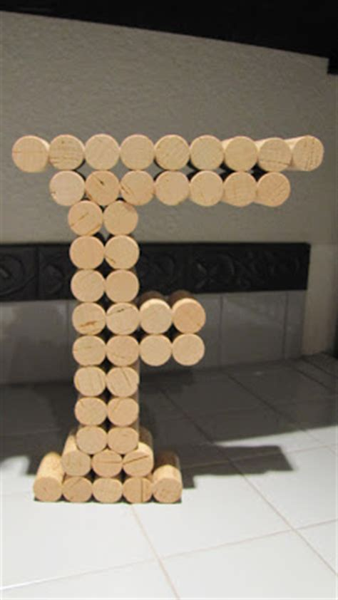 easiest ways   wine cork letters guide patterns