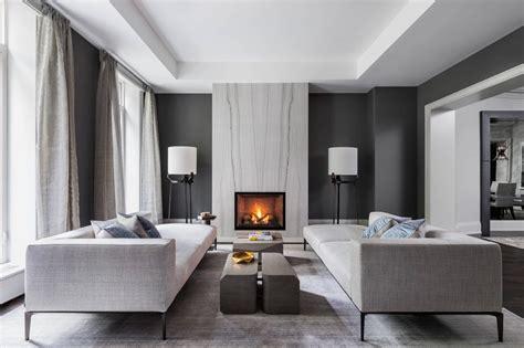 elegantna dnevna soba  spalnica  sivi barvi