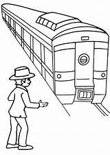 Coloring Subway Train Coloringway Popular sketch template