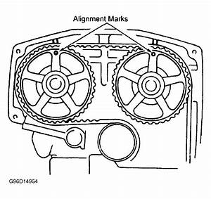 2004 Toyota Sienna Timing Marks