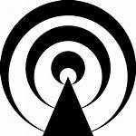 Podcast Icon Symbol Podcasts Broadcast Radio Svg