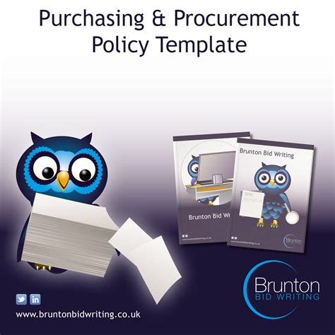 Purchasing Policy Procurement Template For