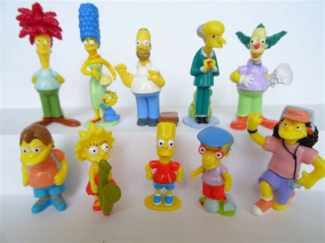 Complete Collectible Figures Sets The Simpsons Toys