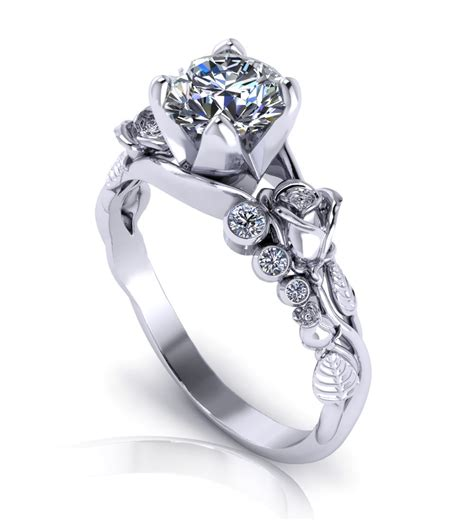 designer wedding rings unique engagement rings wedding promise