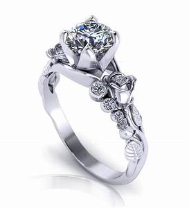 unique engagement rings wedding promise diamond With unusual wedding rings