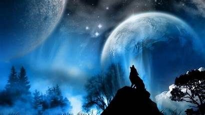 Wolf Howling Moon Wallpapers Wolves Background Backgrounds