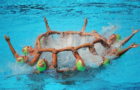 water ballet  world synchronised swimming
