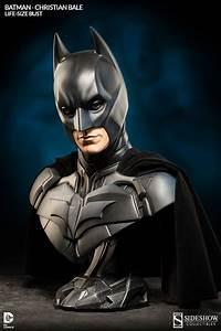 Christian Bale as Batman Dark Knight Life-Size Bust ...