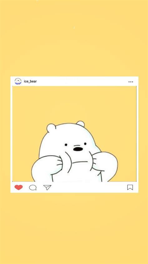 bare bears ice bear cute wallpaper latest