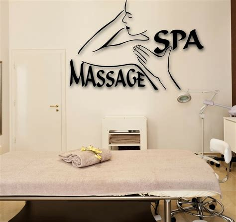 Frequent special offers and discounts up to 70% off for all products! Wall Stickers Vinyl Decal Spa Massage Beauty Salon Relax (ig1704)   eBay