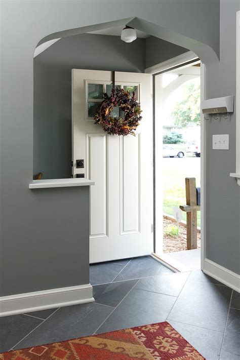 cape cod entryway entry traditional with gray wall