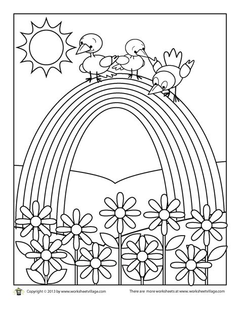 Rainbow Coloring Pages For Adults at GetColorings com