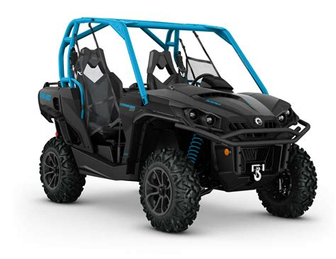 can am commander 2016 can am commander family atv illustrated