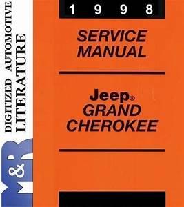 1998 Jeep Grand Cherokee Zj   Zg  Diesel   Service Manual