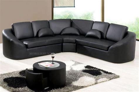 canapé cuire pas cher table basse avec angle arrondi ezooq com