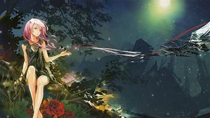 Fairy Forest Wallpapers Backgrounds Woman Animated Anime