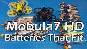Mobula 7 Hd - Battery Fitment - 3s 2s