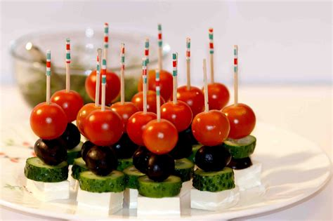 canapé simple easy canapes canapes ideas canapé food decoration