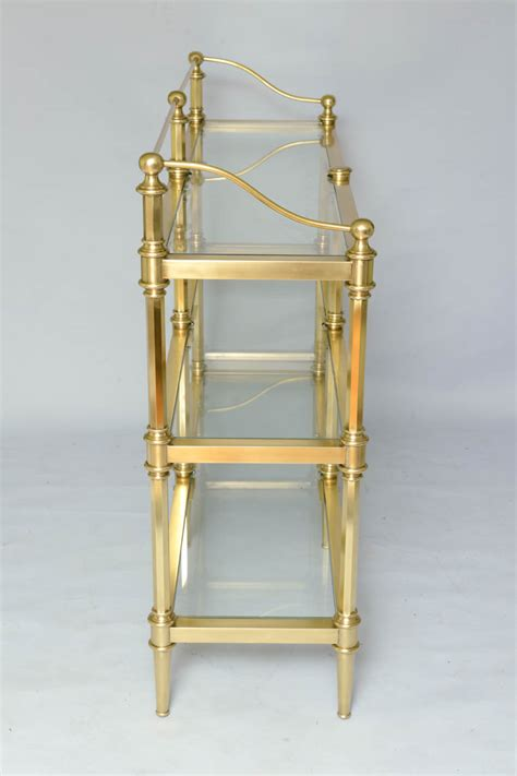 Antique Brass Etagere by Brass Etagere On Antique Row West Palm Florida