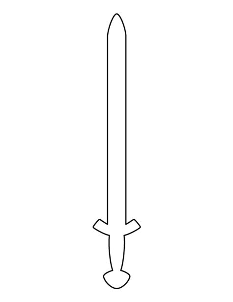 sword template pin by muse printables on printable patterns at patternuniverse viking sword