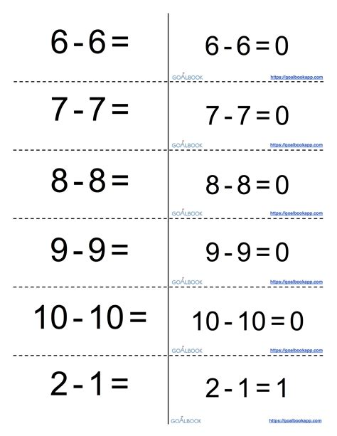 multiplication facts cards free printables worksheet