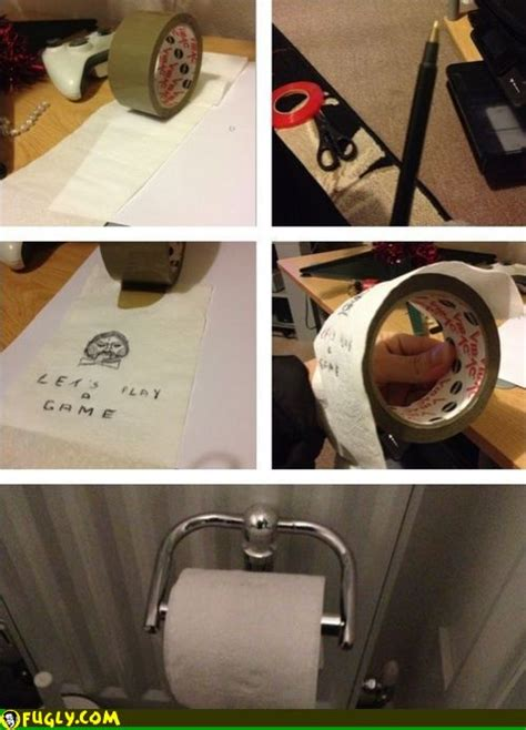 Plays Nutella And Toilet Paper Prank On His by Lets Play A Toilet Paper Fugly
