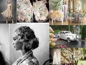 themed wedding a great gatsby wedding theme fantastical wedding stylings