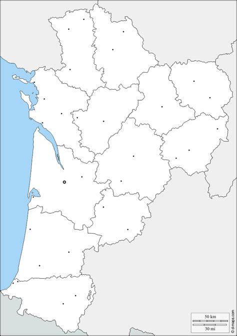 Fond De Carte Vierge Villes by Nouvelle Aquitaine Carte G 233 Ographique Gratuite Carte