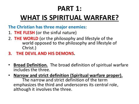 what is the meaning of siege spiritual warfare lesson 1