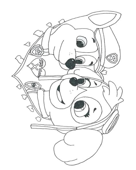 101 best Paw patrol coloring pages images on Pinterest