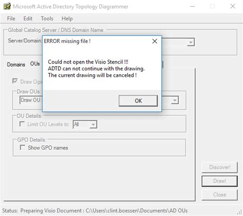 clint boessen s active directory topology diagrammer