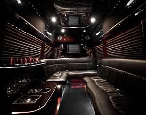 Mercedes Sprinter Limo Bus Interior