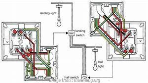 Double Light Switch Wiring Common Uk Fantastic     Clipsal