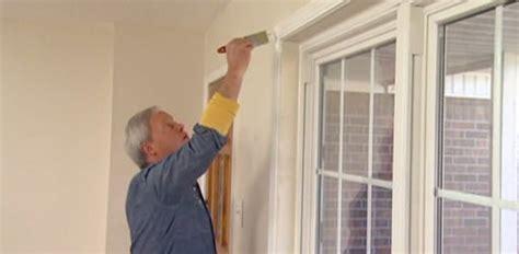 dress   drywall window return  wood casing