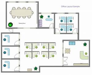 Design your own floor plans for Office layout design online