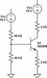 how to solve this npn bjt circuit for dc bias values With dc bias circuit