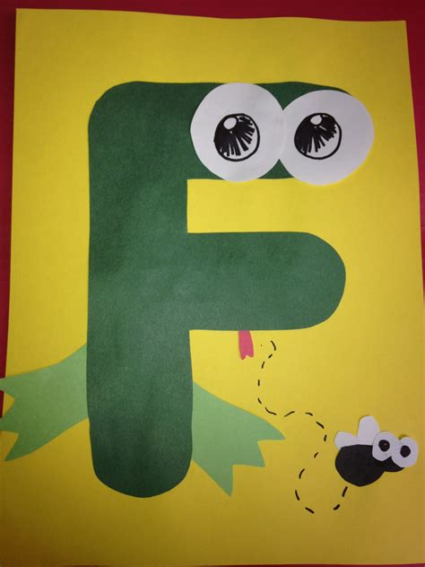 letter f is for frog honeybees preschool arts crafts 158   4d266e987bc28a18dc9284c2aa020254