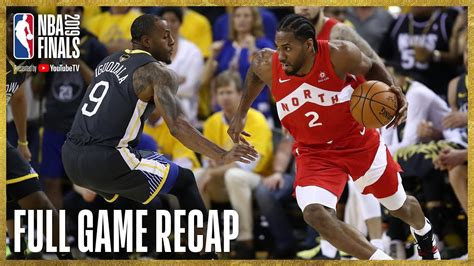 RAPTORS vs WARRIORS | Kawhi Leonard Drops 36 Points in ...
