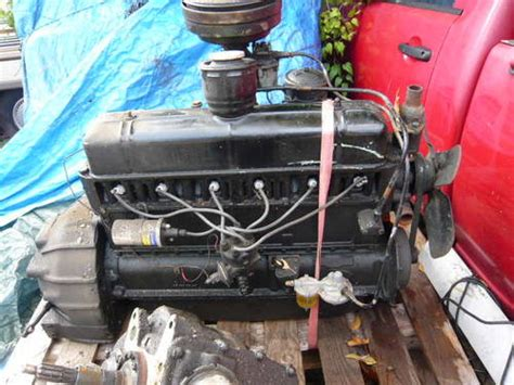 1952 Bedford O Type Engine 28hp Will Fit M & K Type For