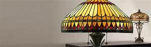 Dale tiffany lighting dale tiffany table lamps tiffany for Captured glass floor lamp