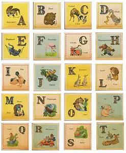 under the root vintage alphabets With antique alphabet letters