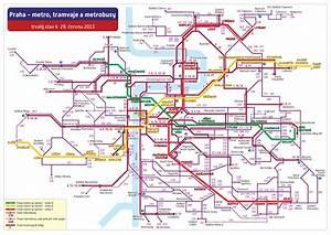 Doprava praha stupně provozu mapa
