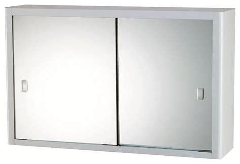 Bathroom Sliding Mirror Cabinet