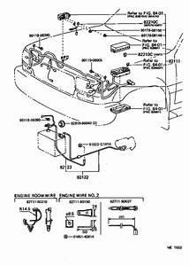 Lexus Lx 450 Wire  Speed Sensor  Door  Cable  Bond