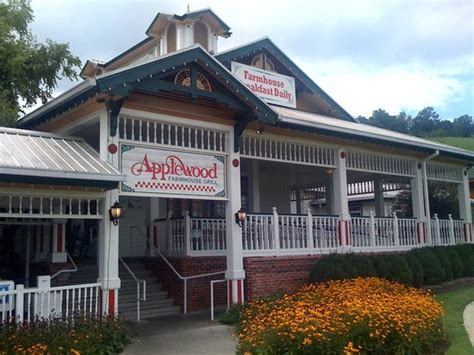 apple barn restaurant pigeon forge applewood farmhouse grill sevierville menu prices