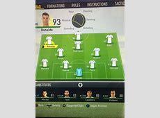 Fifa 19 Notes du Real Madrid Cristiano Ronaldo, Bale