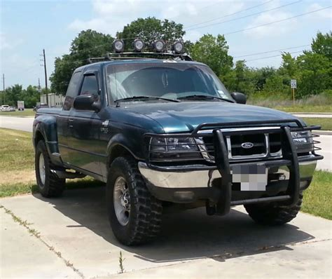 lights on top of truck who has lights on top of their truck ranger forums