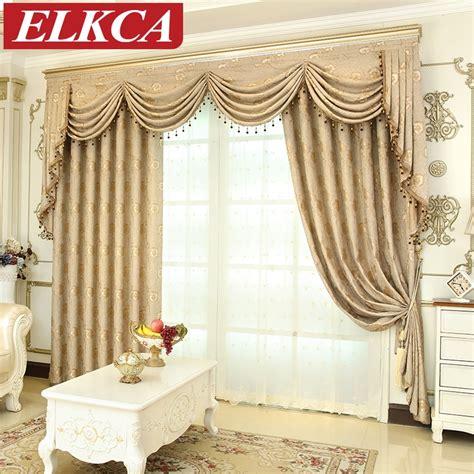 european luxury window curtains  living room bedroom