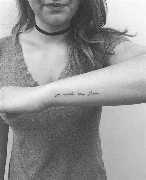 Tiny Tattoo Inspring Text  Tattoo & Pierced Pinterest